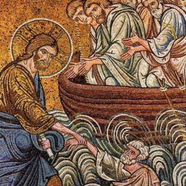 Κυριακή Θ' Ματθαίου: Η ολιγοπιστία του Πέτρου.