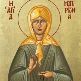 Αγία Ματρώνα η εν Θεσσαλονίκη.